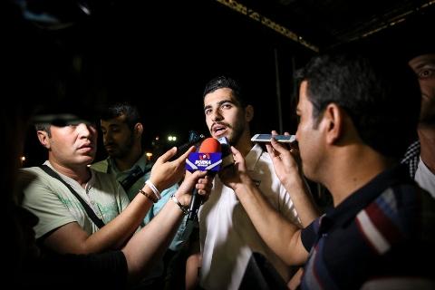 گزارش کامل از ورود تیم ملی ایران به کشور به همراه مصاحبه با سوپرستاره های ملی پوش