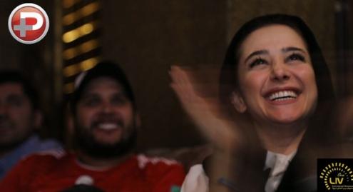 لحظه انفجار مهمانی فوتبالی سلبریتی های ایرانی در رستوران سوپرلوکس تهران/ری اکشن های غیرقابل کنترل بازیگران و خواننده ها در شب درخشش گلادیاتورهای ایران
