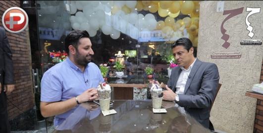 گرانقیمت ترین بستنی ایران توسط گرانقیمت ترین قاضی ایران رونمایی شد: چرا به خودتان اجازه می دهید در زندگی خصوصی آدم ها سرک بکشید؟/حاشیه های شب افتتاحیه هشتمین شعبه کافه بستنی چیمنی در تهران