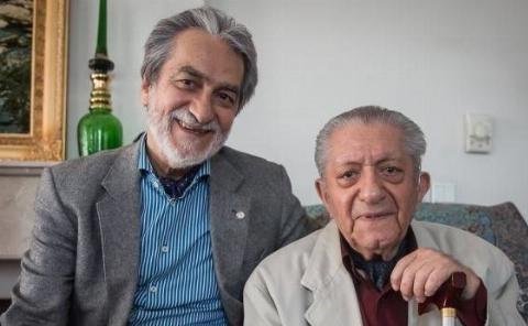 صحبت های مجید انتظامی در مراسم پدرش