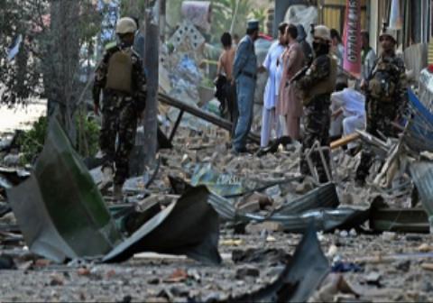 اولین ویدیو بعد از انفجار وحشتناک و کشنده کابل