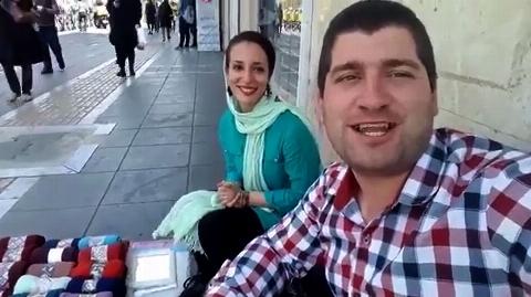 عاشق ترین زوج جوان ایرانی را بشناسید