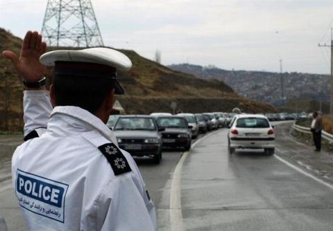 ویدیو؛ جریمه عجیب برای رانندگان خطاکار در جاده چالوس!
