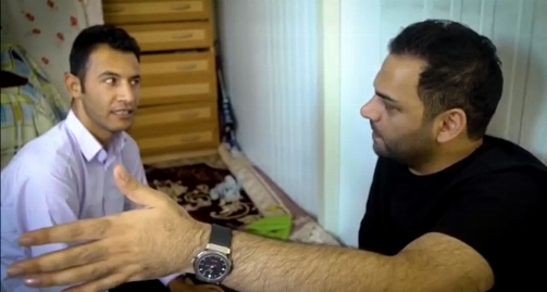 روايت عجیب احسان عليخاني از معجزه زلزله براي پسر معلول روستا