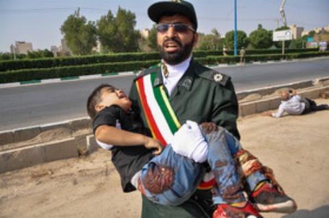 حرف های دردناک مادر شهید 4 ساله حمله تروریستی اهواز