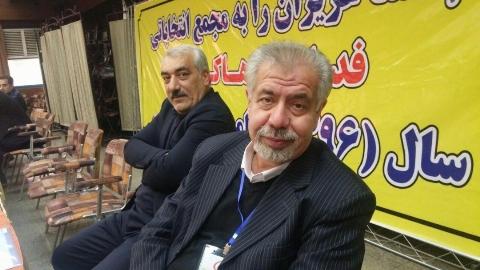 بغض بهرام شفیع در پی اعلام خبر درگذشت منصور پورحیدری