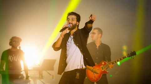 بک استیج و کنسرت بزرگ صدای خاص موسیقی ایران، هوروش بند