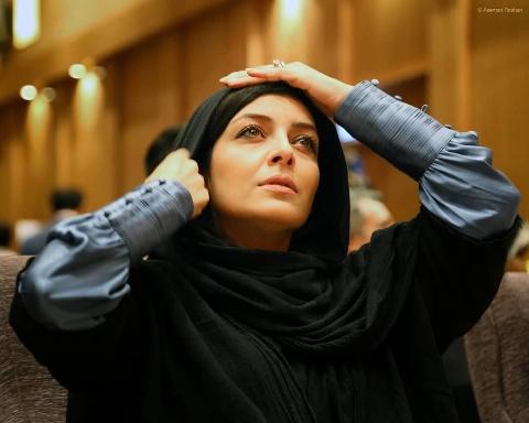 ساره بیات و یکتا ناصر با چهره هایی عجیب در «رحمان1400»