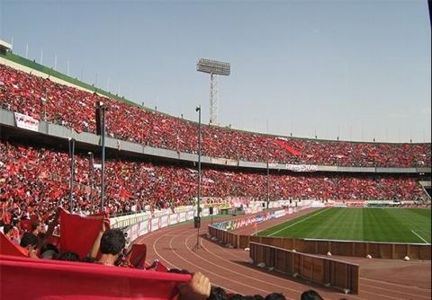 جو وحشتناک استادیوم آزادی در فاصله کمتر از ۴ ساعت تا شروع دیدار فینال لیگ قهرمانان آسیا