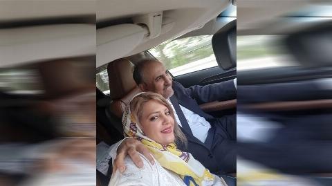 سلفی نجفی شهردار سابق تهران با زن جوانش در ماشین لاکچری!!