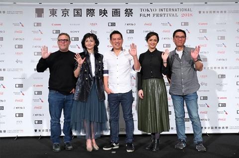 لحظه معرفی و ورود ترانه علیدوستی بعنوان یکی از پنج داور در جشنواره بینالمللی فیلم توکیو ۲۰۱۸