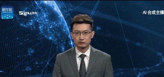 یک ربات با هوش مصنوعی، گوینده خبر تلویزیون چین شد!