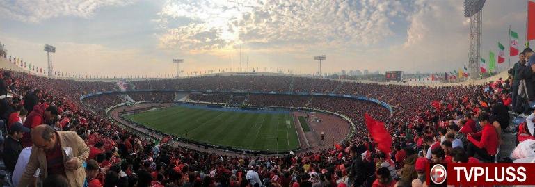 گزارش مزدک میرزایی از حال و هوای ورزشگاه آزادی دو ساعت مانده به دیدار پرسپولیس و کاشیما
