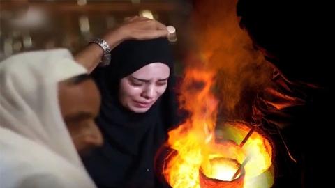 اثبات بیگناهی زن بیچاره با چسباندن زبان به آهن گداخته شده!