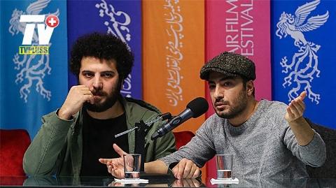 نوید محمدزاده : در سلیقه ام نیست راجع به زحماتی که برای نقشهایم میکشم توضیح بدهم! گزارش اختصاصی شبکه تی وی پلاس از حواشی و پشت صحنه های نشست خبری فیلم متری شش و نیم