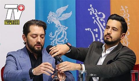 ناراحتی بهرام رادان از سوال خبرنگار: سینمای ما شریف است/نشست خبری پرحاشیه فیلم سونامی/اختصاصی تی وی پلاس