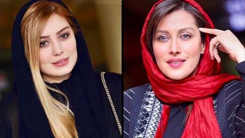 رژه ستاره های سینمای ایران رویفرش قرمز رقص روی شیشه؛ مهتاب کرامتی، حامد کمیلی و سحر قریشی از پرستاره ترین سریال سال ایران رونمایی کردند