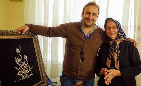 اشکهای عاشقانه مهران احمدی در آغوش مادرش/مادرم همه زندگی من است