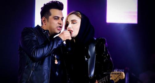 پرحاشیه ترین خواننده زن ایران، پشت پرده تک خوانی اش در کنسرت حمید عسگری را فاش کرد: احساس می کردم من و حمید خواهر و برادریم!/آن عکس را قطعا یک آدم باهوش گرفته است/گفتند حرکات اروتیک و عشوه گری انجام دادی - نگین پارسا قسمت اول