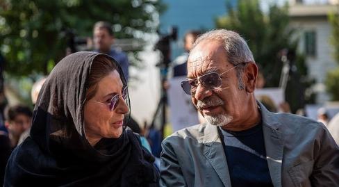 مراسم تشییع پیکر زنده یاد داریوش اسدزاده از خانه هنرمندان