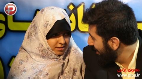 ویدیویی از عجیب ترین عروسی یک زن و شوهر ایرانی/یک شهر مهمان مراسم ازدواج این زوج طلبه شدند/خاطره روحانی جهادگر از ممنوعیت ورودش به قسمت زنانه جشن عروسی اش: آقای مسئول،  به جای بنز سوار شدن به داد این مردم برس