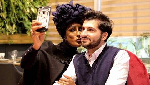 دختر زیبای ملکه آفریقا از ازدواج پرسروصدایش با پسر خوش استایل ایران  می گوید: از تمام دنیا مهمان جشن عروسی مان شدند - اختصاصی تی وی پلاس